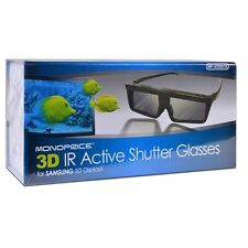 Monoprice 3D IR Active Shutter Glasses for Samsung 3D Displays  MP-3D0001S 8578