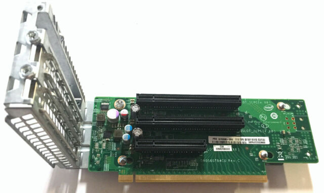 INTEL R2308GZ4GC 2U 3-Slot PCI-e Riser Board G15038-350