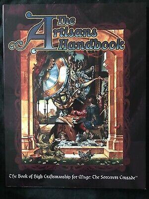 Appena L'artisan's Handbook-mago La Crociata-mostra Il Titolo Originale Colori Armoniosi