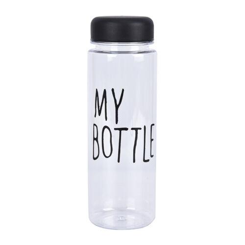 Popular My Bottle Fruit Juice Sport Water Cup Portable Travel Bottle 500ML HU