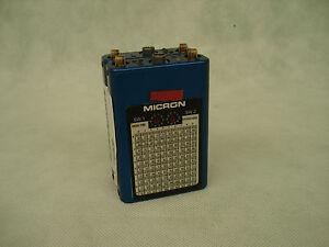 Micron Ddr700 Dual Small Diversity Receiver Fine Workmanship 184 Double Blue