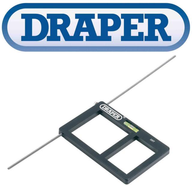 NEW Draper Electrical Socket Single/Double Back Box Template Cutter Level 63955