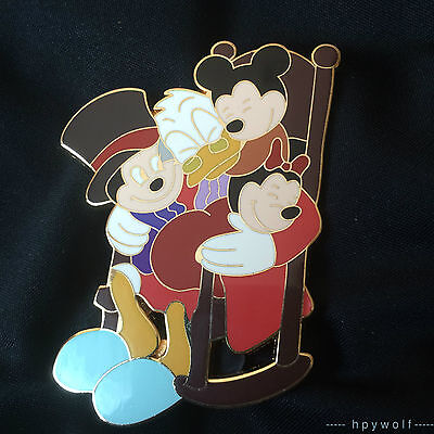Scrooge Mcduck Christmas Carol.Disney Shopping Uncle Scrooge Mcduck Mickey S Christmas Carol Le 100 Pin Ebay