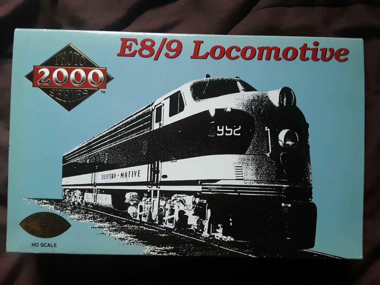 Projoo 2000 8038 NYC E8 9 Locomotora Road  4076 Escala Ho Nuevo En Caja