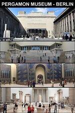 MUSEUM SOUVENIR FRIDGE MAGNET - PERGAMON BERLIN & ALTAR & ISHTAR GATE