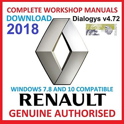 Renault Dialogys V4.72 2018 Downloadable Version Multilanguage Best On Ebay Office Equipment & Supplies Office Equipment