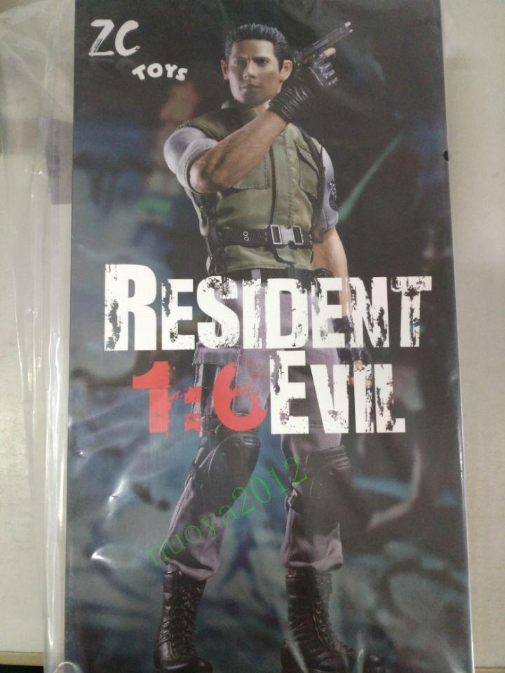 1 6 Chris rojofield Set Completo Muñeca Resident Evil Figura De Acción Coleccionable Modelo