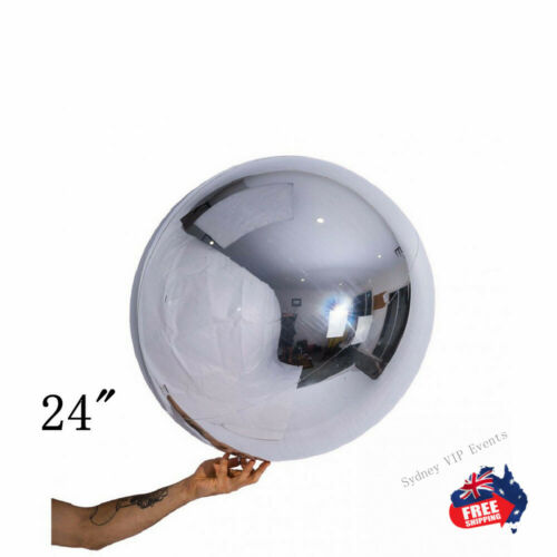 Details about  /SILVER BALLOON BALL ROUND ORBZ CHROME BIRTHDAY PARTY WEDDING DECOR BABY SHOWER
