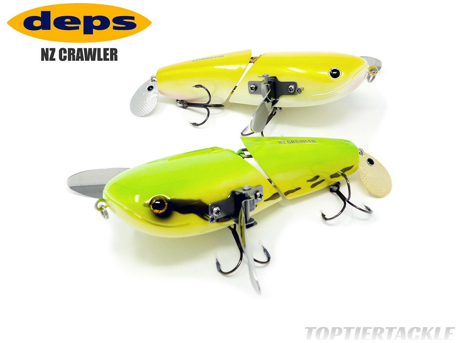 Deps NZ Crawler Topwater Lure - Select color