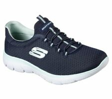 Skechers Frauen Summits Fashion Sneaker blau Groesse 11 US ZO2RD