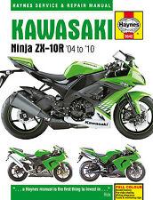 Haynes Manual 5542 - Kawasaki ZX10R (04 - 10) workshop/service/repair