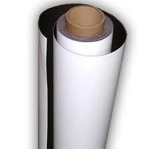 Flexible Magnetic Sheet Self Adhesive Vinyl Roll Sign Vinyl Gripper Magnet Film