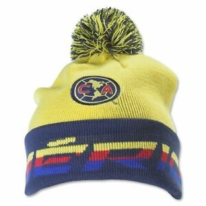 ccaa4e0c0c1 club America Beanie Pom Pom Skull Cap Hat Agulias del America FMF ...