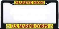 Us Marine Corps Mom Black Metal Frame