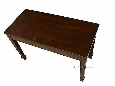 Magnificent Walnut Wood Top Piano Bench Stool Chair Ibusinesslaw Wood Chair Design Ideas Ibusinesslaworg
