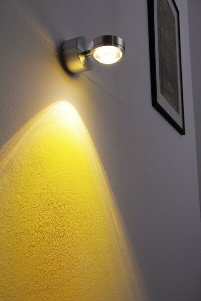LED Wandleuchte Design Lampe Flur Schlaf Wohn Ess Zimmer Spot Loft Strahler