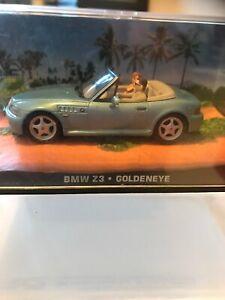 BMW Z3 Diecast Modèle Voiture De James Bond Goldeneye DY009