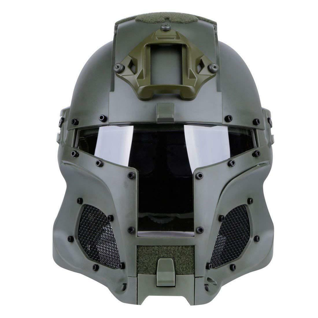 Vintage Full Face Mask Airsoft Tactical Helmets Middle Ages Knight Helmet Armor