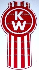 KENWORTH KW Logo Vinyl Decal Sticker 6006