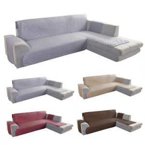 Incredible Details About Corner Sofa Cover Quilted Throw Anti Slip Couch Settee Covers Protector L Shape Short Links Chair Design For Home Short Linksinfo