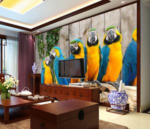 3D Beautiful Parred Animal 4167 Wall Paper Wall Print Decal Wall AJ WALLPAPER CA
