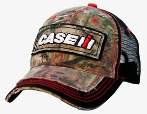462b928d650 Image is loading Case-IH-Distressed-Camo-Black-Mesh-Back-Youth-