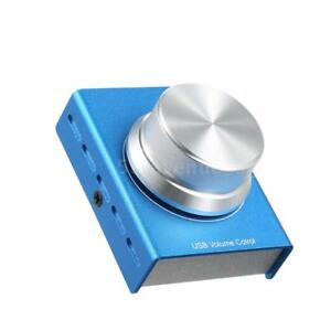 Mini USB Volume Control Knob Audio Adjuster USB Cable for