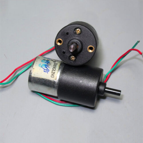 DC 3V 5V 6V 28RPM Large Torque Micro Gearbox Gear Motor Speed Reduction DC Motor