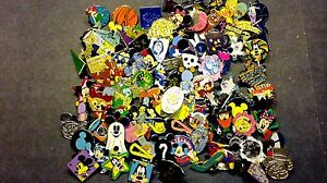 DISNEY-PINS-Lot-of-500-FASTEST-FREE-SHIPPER-in-USA-Including-Parks-5-FREE-pins