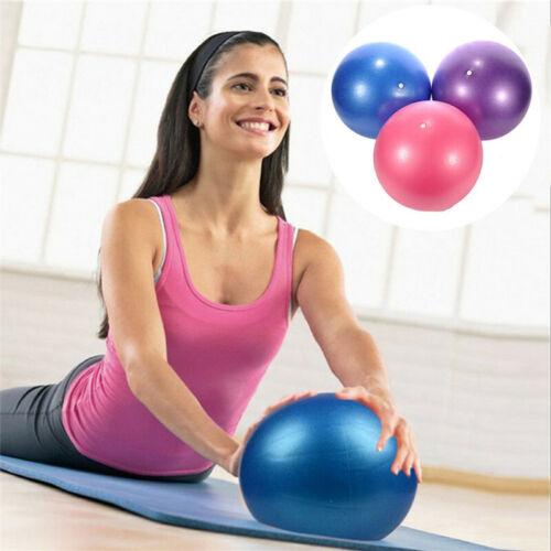 Balle De Yoga Pilates Ball Souple De 25 Cm Pour Exercices De Gymnase Avec Pompe