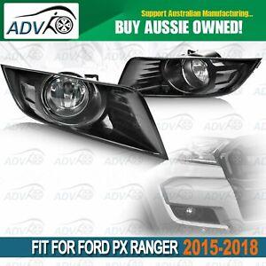 For-Ford-Ranger-PX-Ser-2-15-18-Full-Set-Fog-Light-Spot-Driving-Lamp-KIT-Black