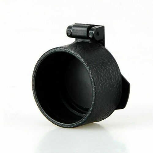 Airsoft Scope Lens Cover Flip Up Quick Spring Protection Cap For Hunting Outdoor