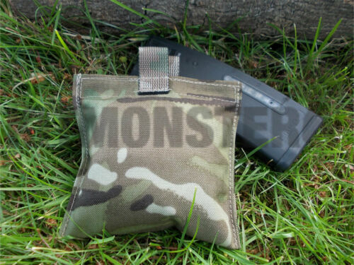 New MTP Small Flat Square Pocket Pouch for SA80 C8 Rifle Cleaning Kit empty