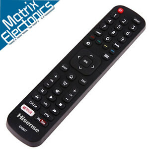 Hisense Genuine OEM Smart TV Remote Control EN2B27 50K321UWT