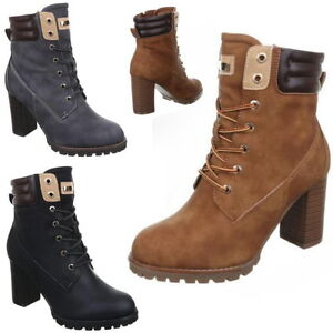 neu luxus damen stiefeletten stiefel oktoberfest schuhe boots highheels neu 676 ebay. Black Bedroom Furniture Sets. Home Design Ideas