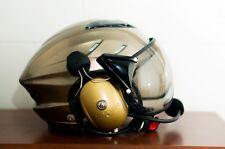 MX-02 PPG Helmet Visor Powered Paragliding Paramotor Headset GoPro Base Golden