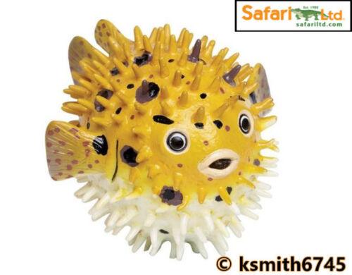 Safari poisson-globe Jouet en plastique Wild Zoo marine mer Reef Animal NOUVEAU *