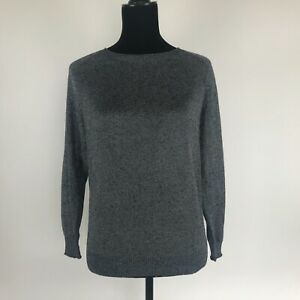 Grey crew J Nwt S Pull Xs Summerweight Col L Taille Roulé 6Eddxrqaw