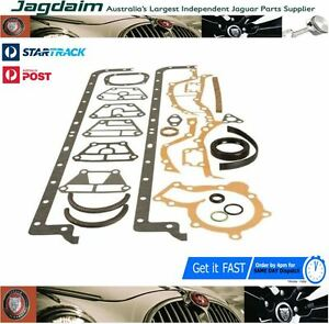 New-Jaguar-4-2-Daimler-XJ6-S1-S2-S3-E-Type-Sump-Bottom-End-Gasket-Set-JLM9713