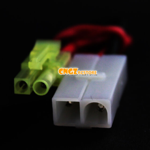 Airsoft charger adapter lead Wire Connector Adapter (large - mini Tamiya)