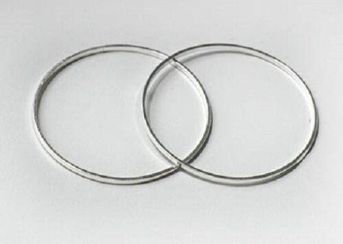 LOT de 50 ANNEAUX JONCTION fermés RONDS 10mm ARGENTES SANS NICKEL perles sautoir
