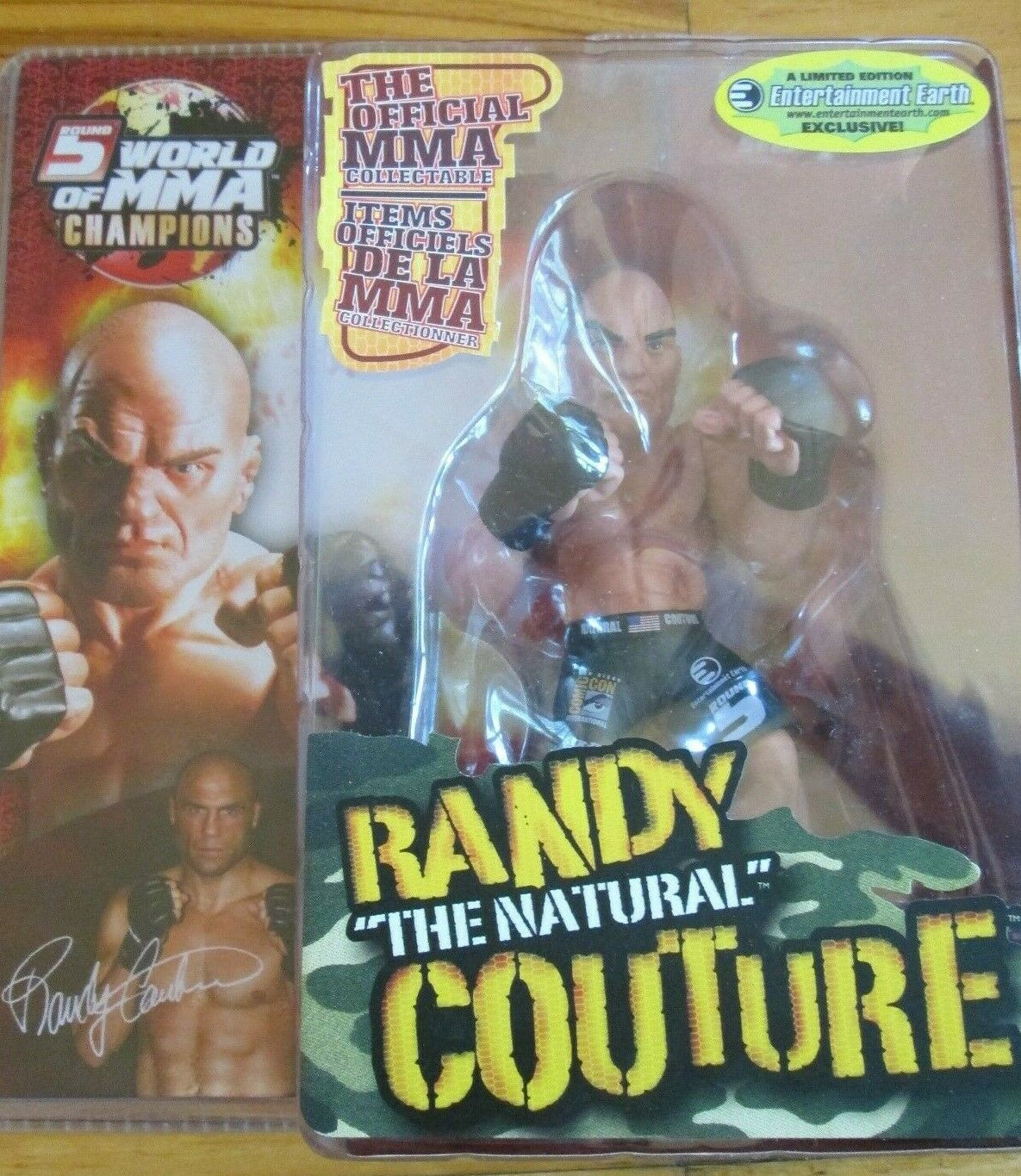 Round 5 MMA Randy Couture Green Shorts Variant UFC Exclusive Comic Con Figure