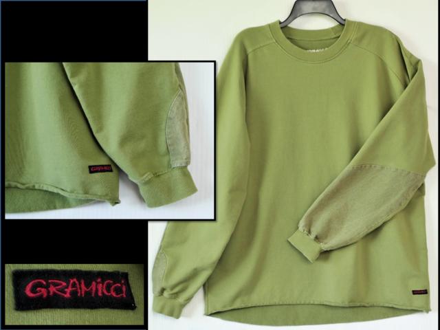 GRAMICCI Freedom of Movement Men's Sweatshirt w/ Partial Canvas Sleeves XXL
