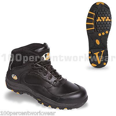 Vtech VS600 Slam Black Safety Trainer With Composite Toe Caps /& Steel Midsole