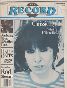 DEC-1981-RECORD-vintage-music-magazine-CHRISSIE-HYNDE