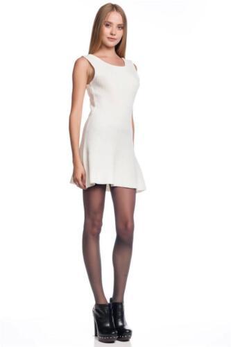 Friends Real Love Dress Knitted Cream Mini Tank short Designer Ivory Lovers
