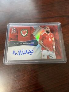 2016 Spectra Soccer Ashley Williams Red Auto Autograph /65