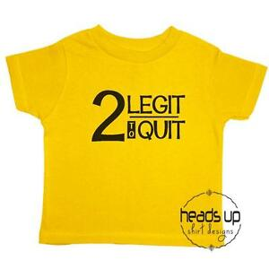 Image Is Loading 2nd Birthday Shirt Toddler Boy Girl Two Legit