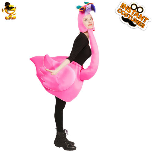 Women/'s Flamingo Jumpsuit Animal Role Play Costume for Carnival Party