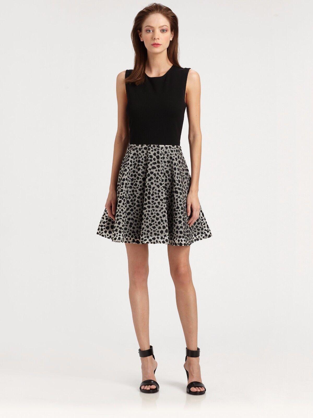 NWT DIANE VON FURSTENBERG JEANNIE LEOPARD DRESS- Retail Price 498